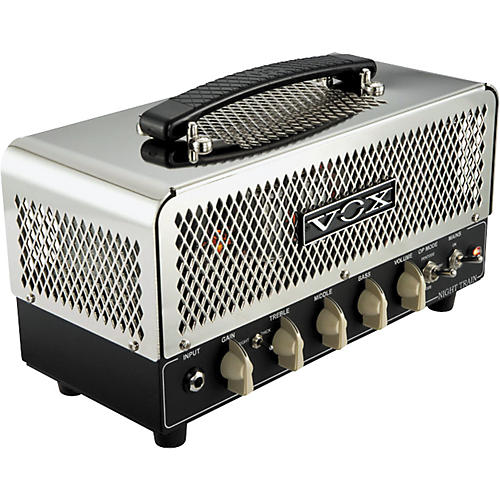 Vox Night Train NT15H 15W Guitar Amp Head Chrome