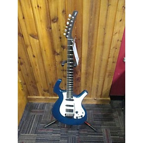 used parker guitars nightfly trans blue solid body electric guitar trans blue guitar center. Black Bedroom Furniture Sets. Home Design Ideas