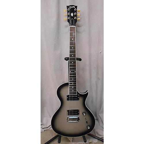 Gibson Nighthawk Standard Silverburst Solid Body Electric Guitar-thumbnail