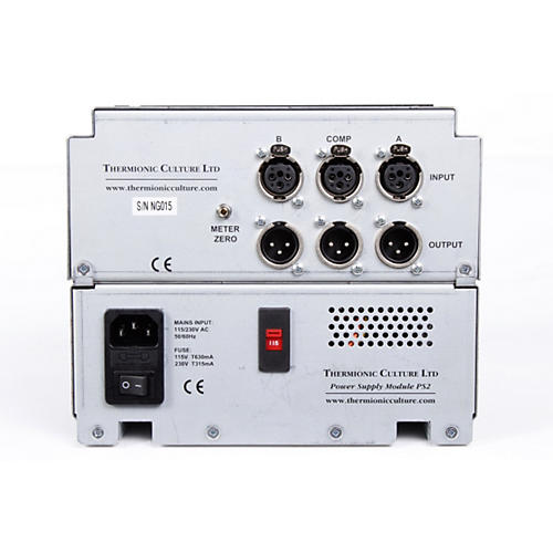 Thermionic Culture Nightingale Dual Mic Pre & Mono Compressor-thumbnail