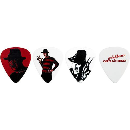 Clayton Nightmare On Elm Street Guitar Picks 6-Pack White Medium
