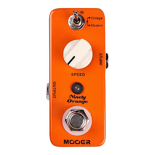 Mooer Ninety Orange Phaser Guitar Effects Pedal-thumbnail