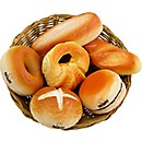 Nino Baker's Shaker 6 Piece Bread Assortment