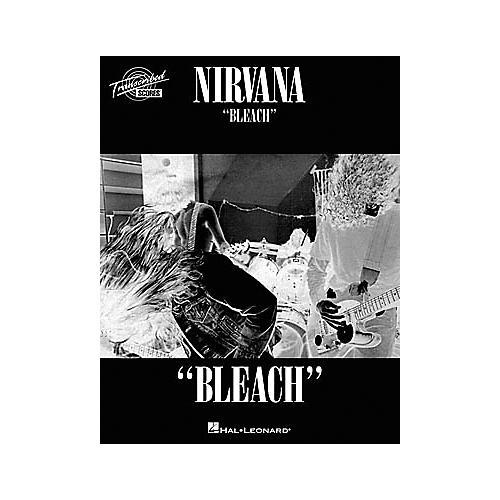 Hal Leonard Nirvana - Bleach Transcribed Score Book