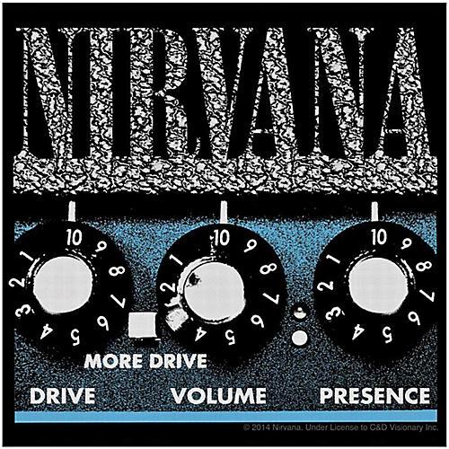 C&D Visionary Nirvana Amp Sticker