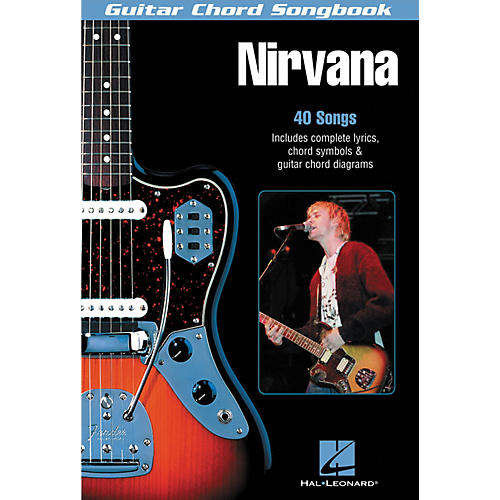 Hal Leonard Nirvana Guitar Chord Songbook-thumbnail