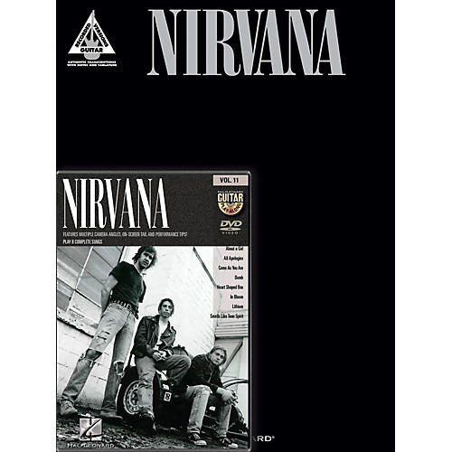 Hal Leonard Nirvana Guitar Pack Book/DVD-thumbnail