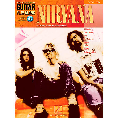 Hal Leonard Nirvana Guitar Play-Along Series Volume 78 (Book/CD)