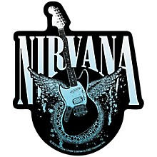C&D Visionary Nirvana Guitar with Eagle Sticker