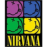 C&D Visionary Nirvana Smiley-face Color Sticker