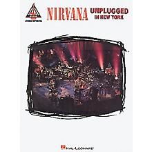 Hal Leonard Nirvana Unplugged in New York Guitar Tab Songbook