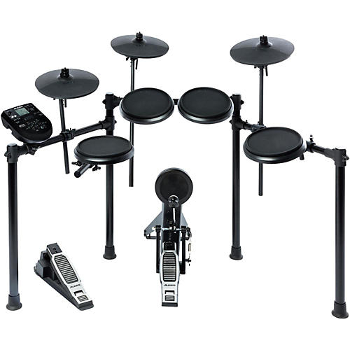 Guitar Center's Product Spotlight provides a comprehensive overview of the Alesis Crimson Electronic Kit. The Alesis Crimson Mesh Kit is a five-piece electronic first go with the alesis strike kit .