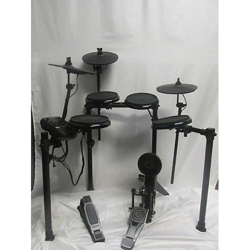 used alesis nitro 8 piece electronic drumset electric drum set guitar center. Black Bedroom Furniture Sets. Home Design Ideas