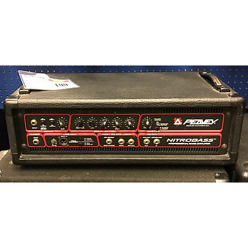 used peavey nitrobass 450 bass amp head guitar center. Black Bedroom Furniture Sets. Home Design Ideas