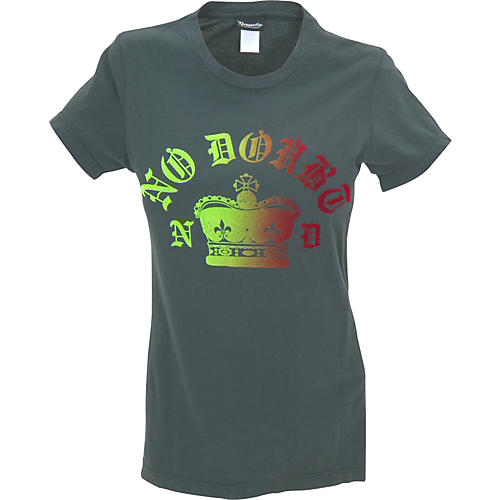 Dragonfly Clothing Company No Doubt Flocked Women's T-Shirt-thumbnail