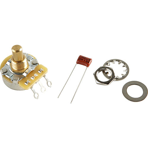 Fender No-Load 250K Solid Shaft Potentiomenter-thumbnail