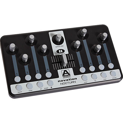 Novation Nocturn Intelligent Plug-In Controller with Automap Universal 2.0 Software