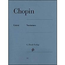 G. Henle Verlag Nocturnes By Chopin / Zimmermann