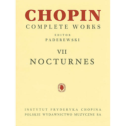 PWM Nocturnes (Chopin Complete Works Vol. VII) PWM Series Softcover