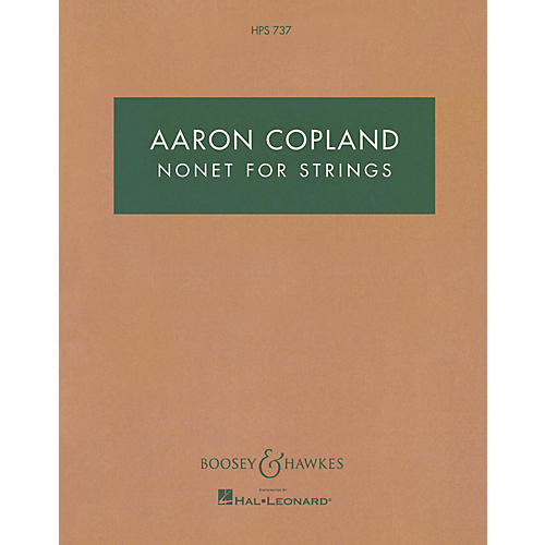 Boosey and Hawkes Nonet for Strings Boosey & Hawkes Scores/Books Series Composed by Aaron Copland
