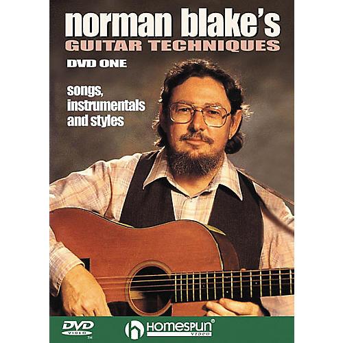 Homespun Norman Blake's Guitar Techniques 1 (DVD)