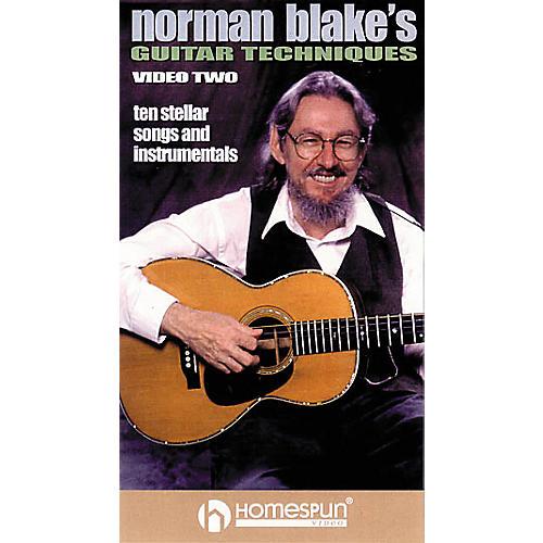 Homespun Norman Blake's Guitar Techniques 2 (VHS)-thumbnail
