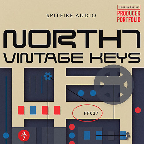 Spitfire North 7 Vintage Keys-thumbnail