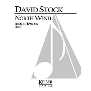 Lauren Keiser Music Publishing North Wind Bassoon Solo LKM Music Series b... by Lauren Keiser Music Publishing