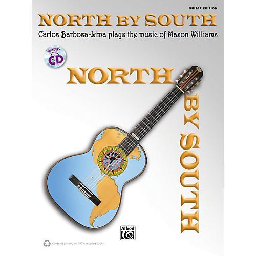 Alfred North by South Carlos Barbosa-Lima Plays Mason Williams Guitar Book & CD-thumbnail