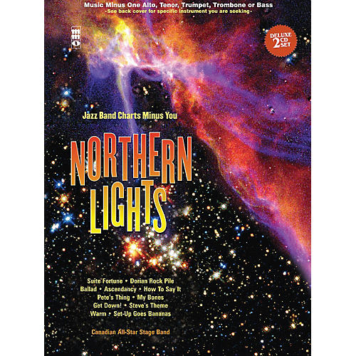 Music Minus One Northern Lights - Alto Saxophone Music Minus One Series Book with CD