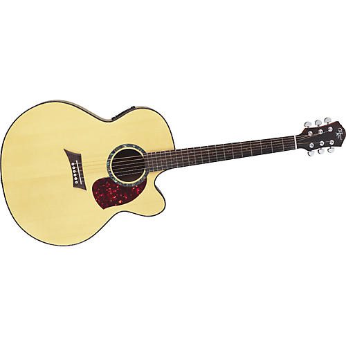 Michael Kelly Nostalgia 60SJCE Jumbo Acoustic-Electric Guitar With Onboard Tuner-thumbnail