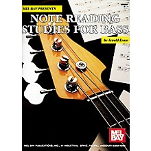 Mel Bay Note Reading Studies for Bass Book