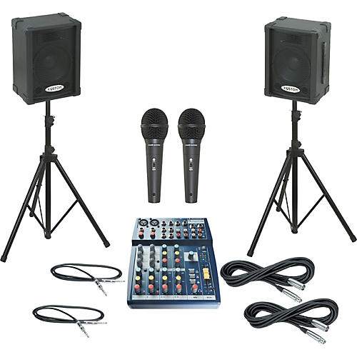 Soundcraft Notepad 102 / KPC10P PA Package