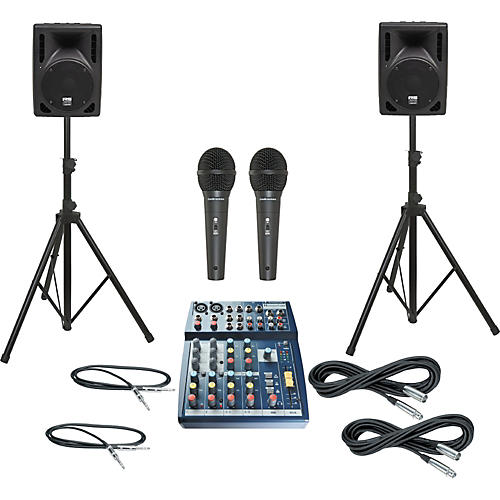 Soundcraft Notepad 102 / RS-408 PA Package