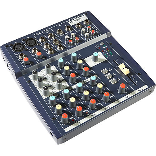 Soundcraft Notepad 102 Mixer