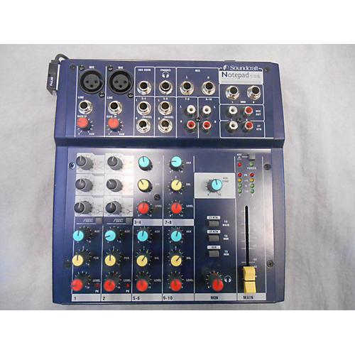 Soundcraft Notepad 102 Powered Mixer