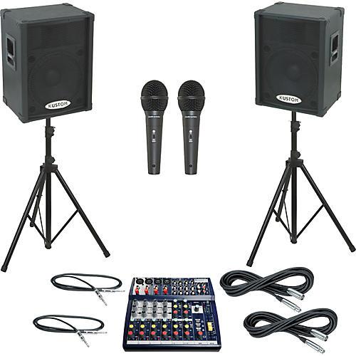 Soundcraft Notepad 124 / KPC15P PA Package-thumbnail