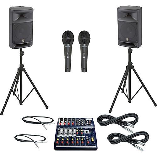 Soundcraft Notepad 124 / MSR250 PA Package