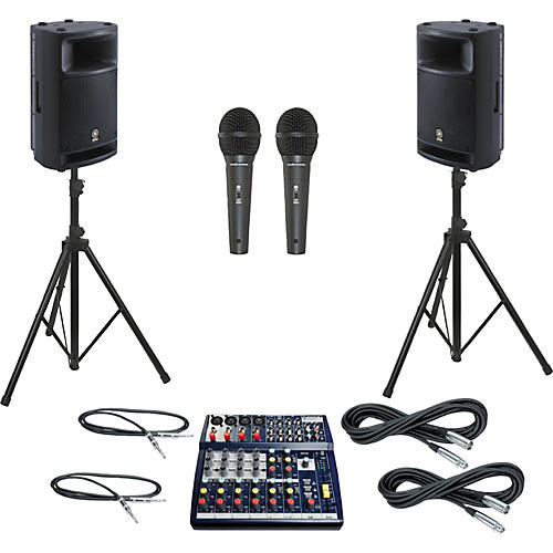 Soundcraft Notepad 124 / MSR400 PA Package-thumbnail