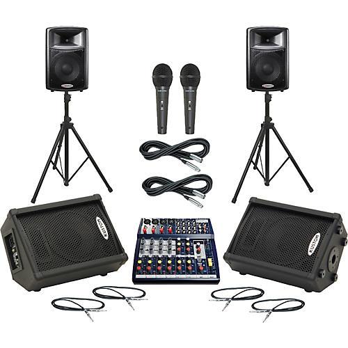 Soundcraft Notepad 124FX / APS12 Mains & Monitors Package-thumbnail