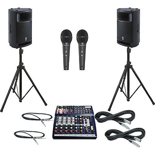 Soundcraft Notepad 124FX / MSR400 PA Package