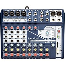 Soundcraft Notepad-12FX Small Format 12 Channel Analog Mixing Console w/ USB I/O & Effects