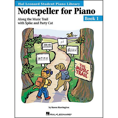 Hal Leonard Notespeller For Piano Book 1 Hal Leonard Student Piano Library-thumbnail