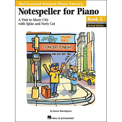 Hal Leonard Notespeller For Piano Book 3 And Book 4 Exercises Hal Leonard Student Piano Library-thumbnail