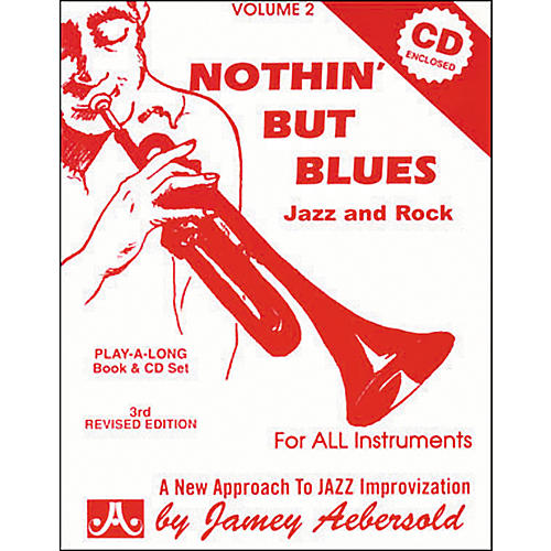 Jamey Aebersold Nothin' But Blues Volume 2 Play-Along Book and CD