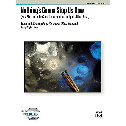 Alfred Nothing's Gonna Stop Us Now Steel Drum Ensemble Score & Parts-thumbnail