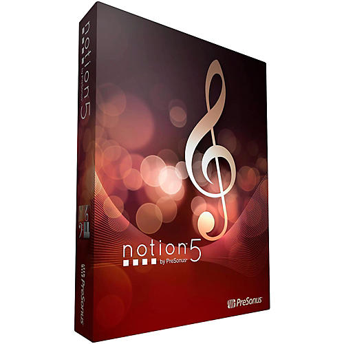 Presonus Notion 5 Music Notation Software Download
