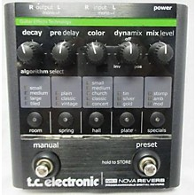 TC Electronic Nova Reverb Effects Processor