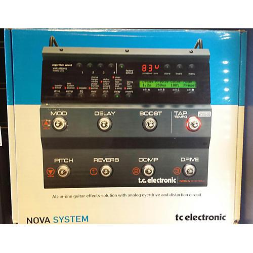 TC Electronic Nova System ELEC PEDAL-E MULTI FX