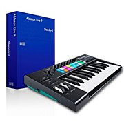 Novation Novation Launchkey 25 MIDI Controller with Ableton Live 9.5 Standard